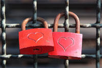 Liebesschloss in Kitzingen online kaufen